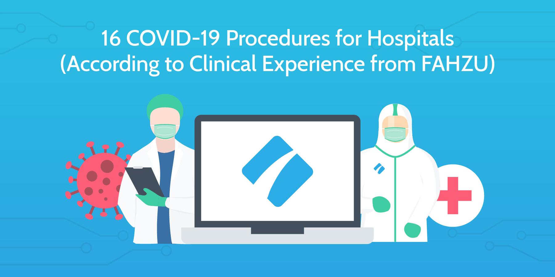 covid-19 procedures header