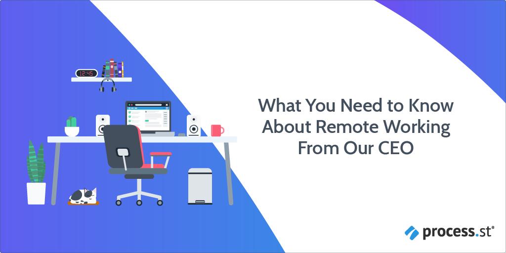 remote working header