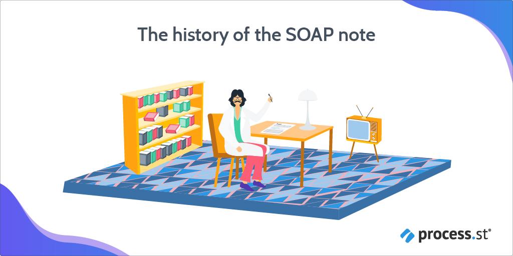 SOAP note history
