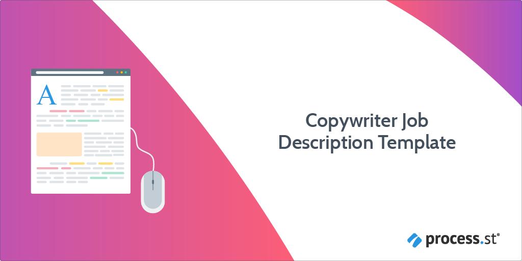 copywriter job description template