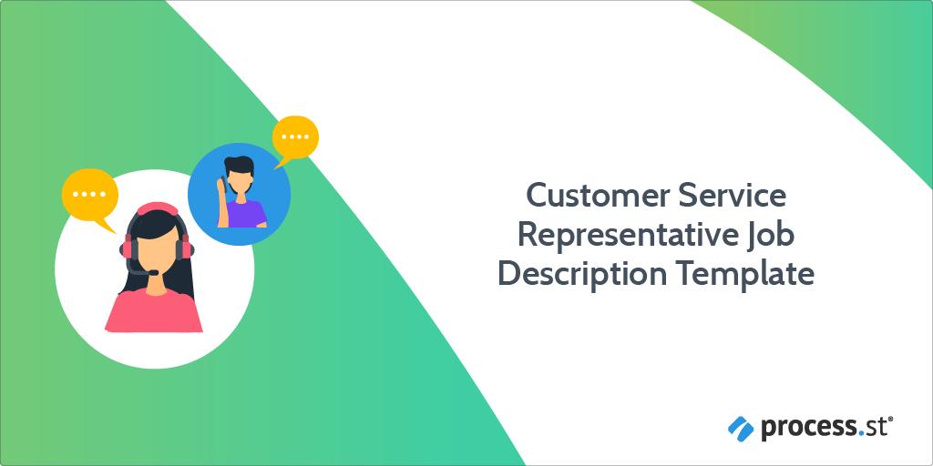 customer service representative job description template
