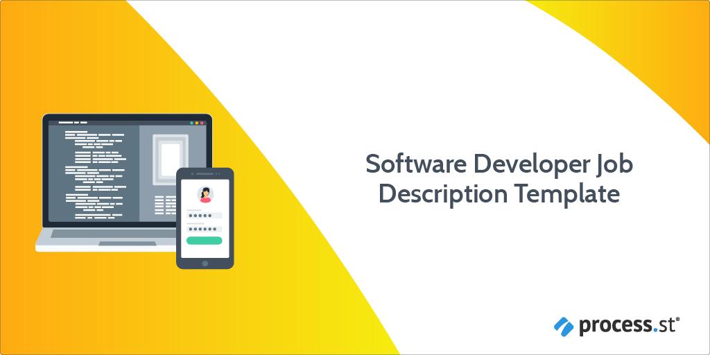 software developer job description template