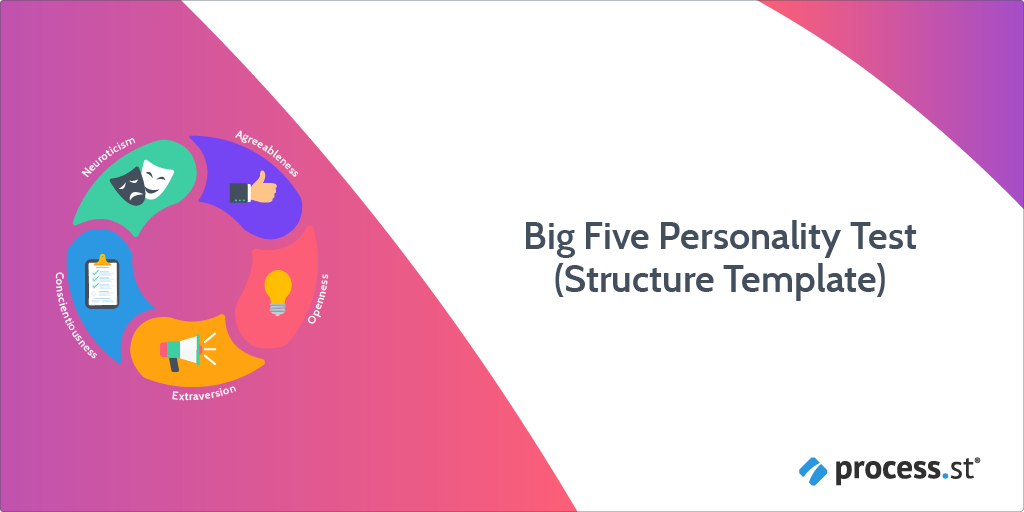 big five personality test structure template