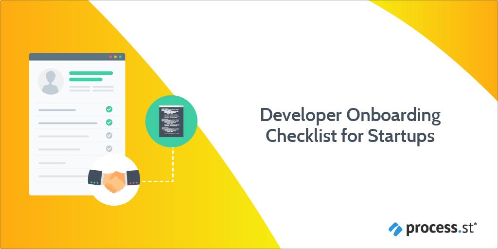 developer onboarding checklist for startups