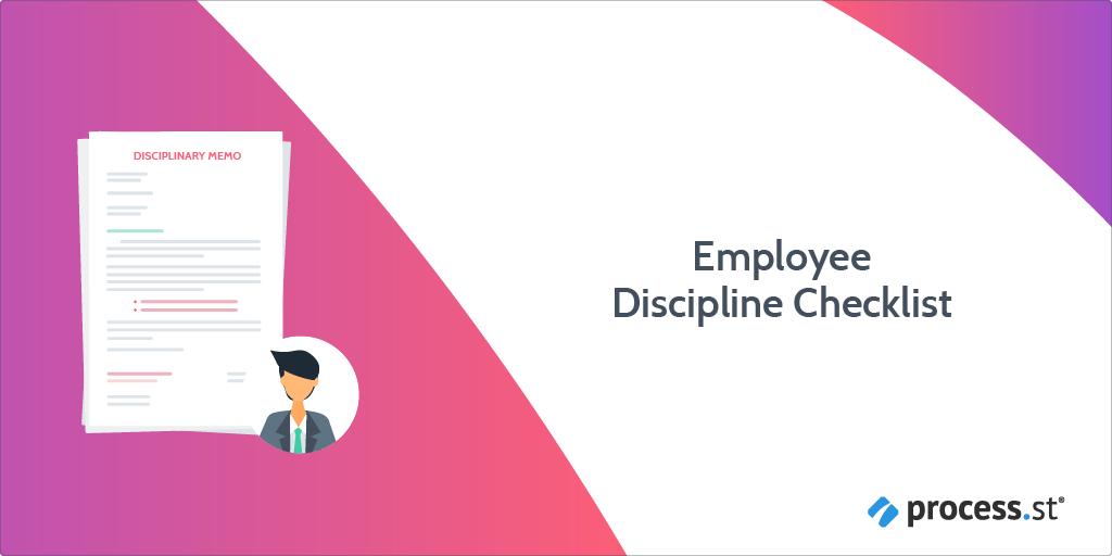 employee discipline checklist