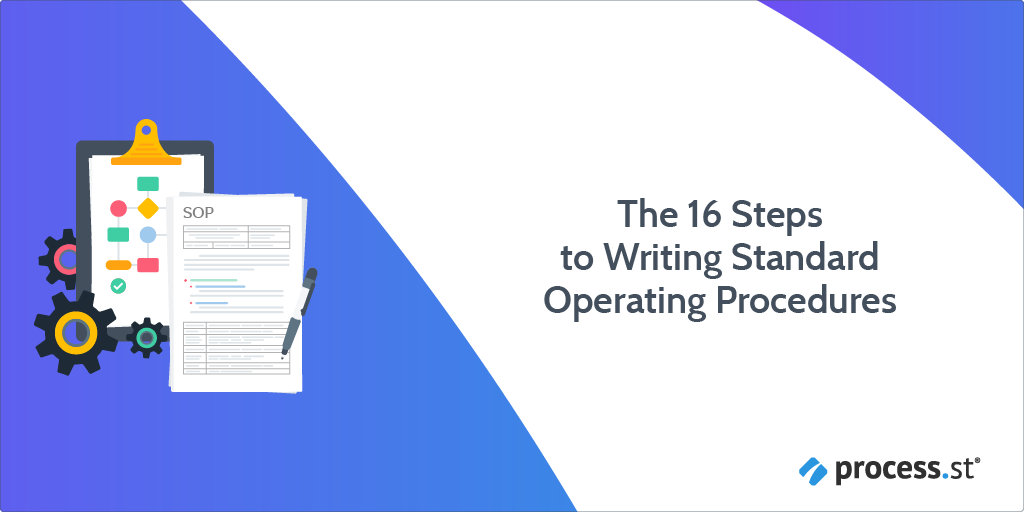 the 16 steps to writing standard operating procedures