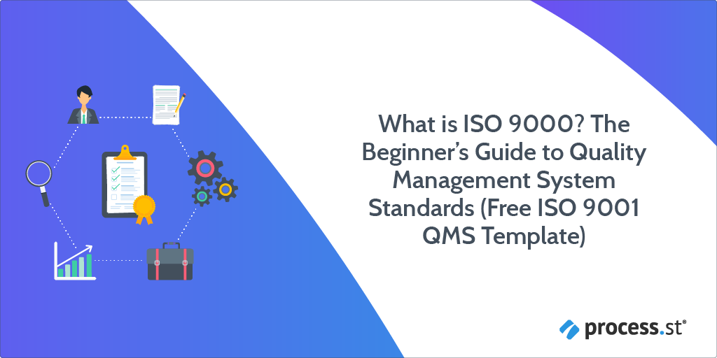 what is iso 9000? the beginner's guide to quality management system standards (free iso 9001 qms template)
