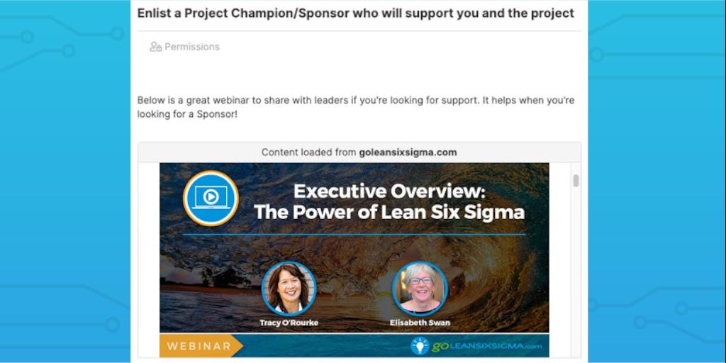 lean six sigma sponsor edited