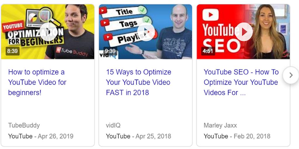 video optimization thumbnails