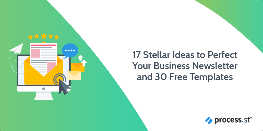 17 Stellar Ideas to Perfect Your Business Newsletter and 30 Free Templates-17