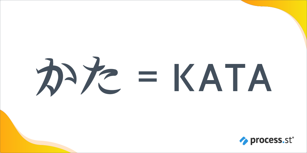 Kata Japanese text
