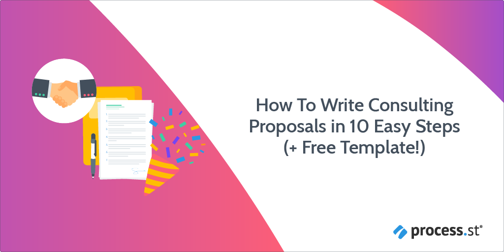 how to write consulting proposals