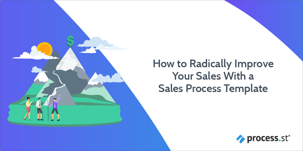 sales process template