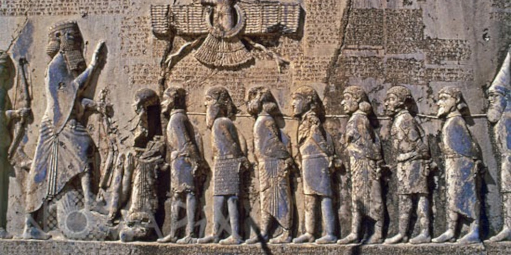 Modern Propaganda: Behistun Inscription
