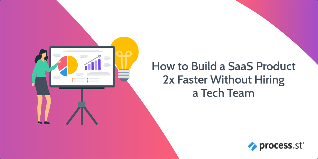 How to Build a SaaS Product 2x Faster Without Hiring a Tech Team