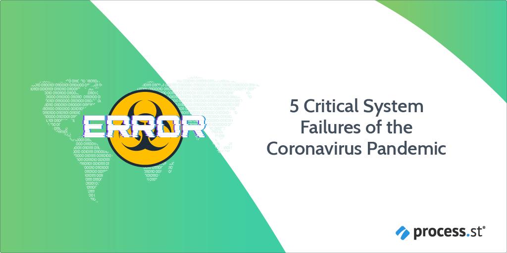 5 Critical System Failures of the Coronavirus Pandemic