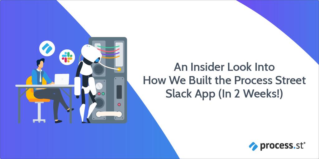 build a slack app