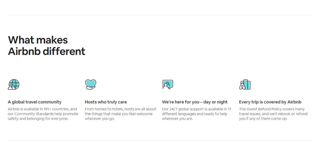Hyper growth: Airbnb
