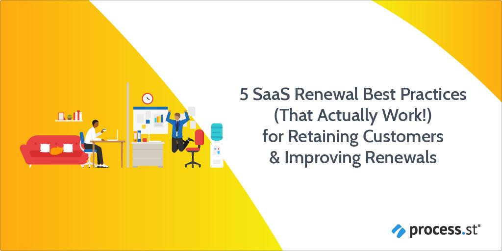 saas renewal best practices
