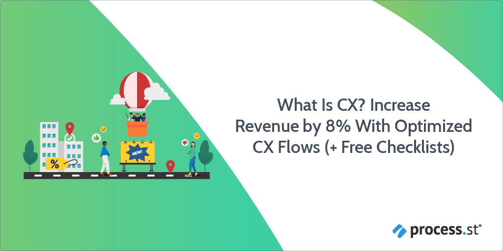 What is CX Increase Revenue by 8% With Optimized CX Flows Free Checklist_1