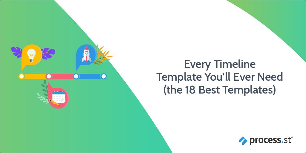 timeline template - header