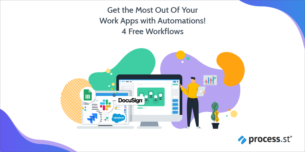 Get the Most Out Of Your Work Apps with Automations 4 Free Workflows