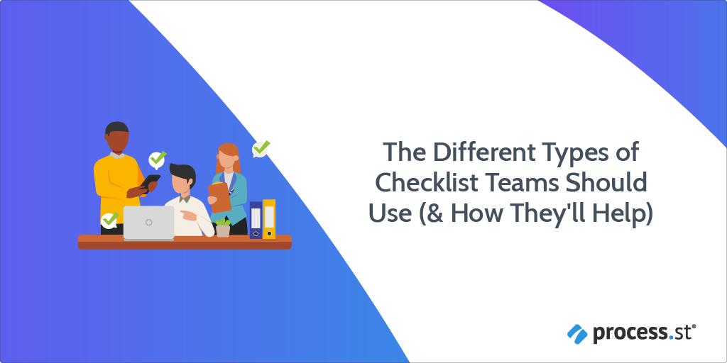 types of checklist