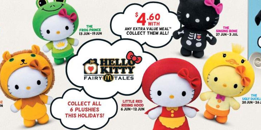 McDonald's and Hello Kitty collaboration