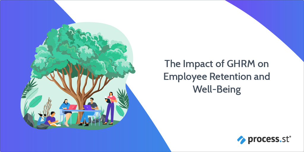 Greening HR The Impact of GHRM on Employee Retention and Well-Being