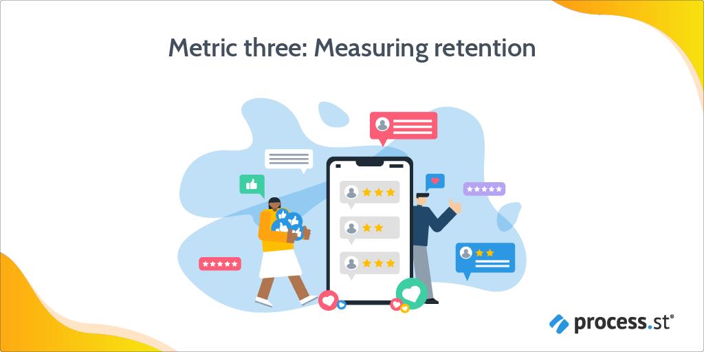 Metric 3 - retention