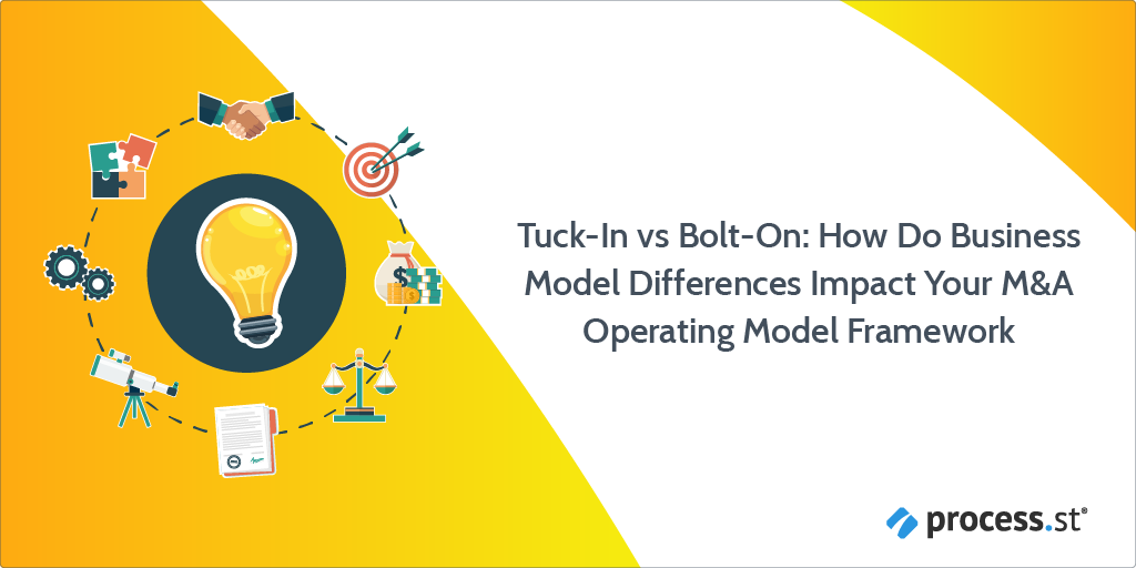 Tuck-In vs. Bolt-On: How Do Business Model Differences Impact Your M&A Operating Model Framework
