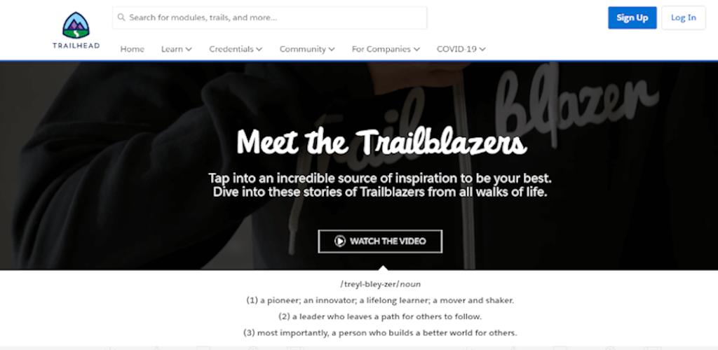 Salesforce Trailblazers community