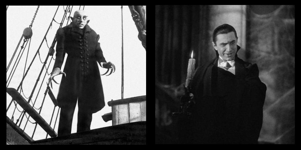Count Orlok VS Count Dracula